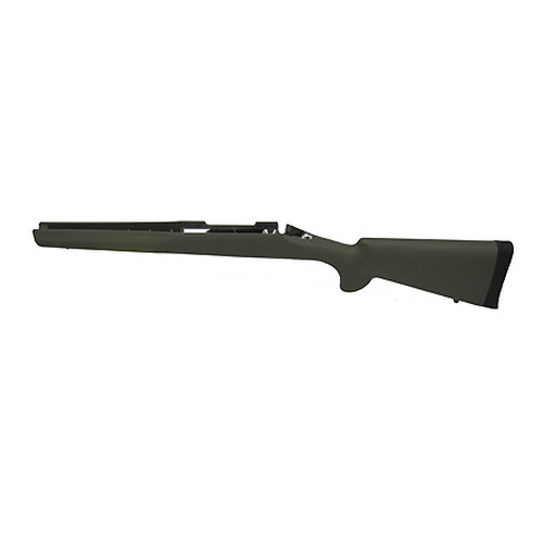 Hogue Hogue Rubber Overmolded Stock for Remington Remington 700 LA BDL, Standard Barrel, w/ Bed Block, Olive Drab 70203