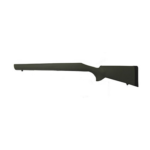 Hogue Hogue Rubber Overmolded Stock for Remington BDL Long Action Heavy Varmint Barrel Full Bed Block 70213