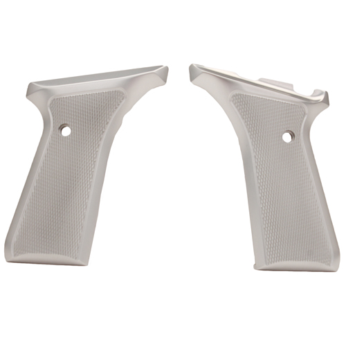 Hogue Hogue Browning BuckMark Grips Checkered Aluminum Brushed Gloss Clear Anodized 72175