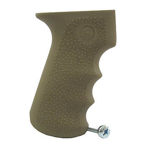 Hogue Hogue AK47 Rubber Grip with Finger Grooves, Desert Tan 74003