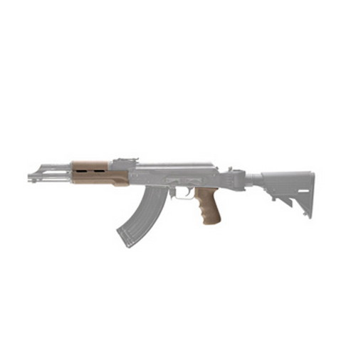 Hogue AK-47 Rubber Grip Standard w/Forend Desert Tan