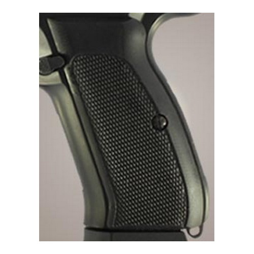 Hogue CZ-75/CZ-85 Grips Checkered G-10 Solid Black