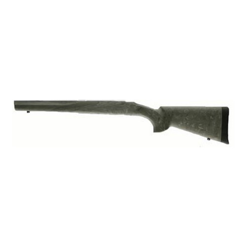 "Hogue Ruger 77 MKII Long Action Overmolded Stock ""B"" Barrel, Full Bed Block, Ghillie Green 77823"