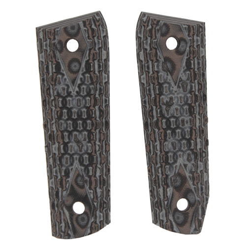 Hogue Hogue Ruger 22/45 RP Grip Chain G10 GMascus Black/Gray 82107-BLKGRY