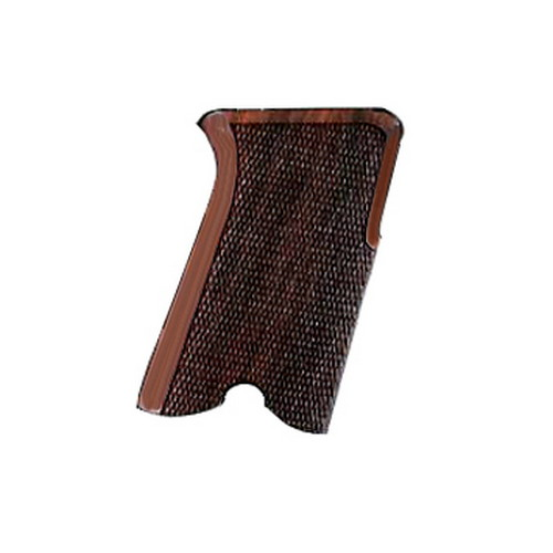 Hogue Hogue Rosewood Checkered Grip, Ruger P85 - P91 85911