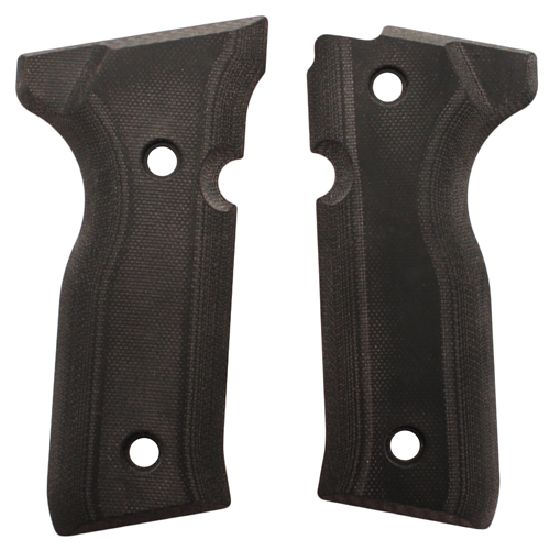 Hogue Hogue Beretta Cougar 8000+ Grips G-10 Solid Black 91169