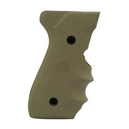 Hogue Hogue Beretta 92/96 Grip with Finger Grooves Desert Tan 92003