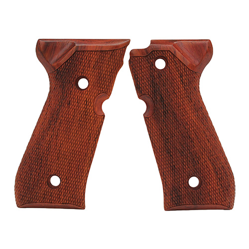 Hogue Beretta 92 Grips Coco Bolo Checkered