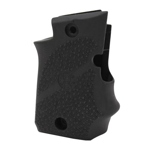 Hogue Hogue Sig P938 Rubber Grip Ambidextrous, w/Finger Grooves Black 98080