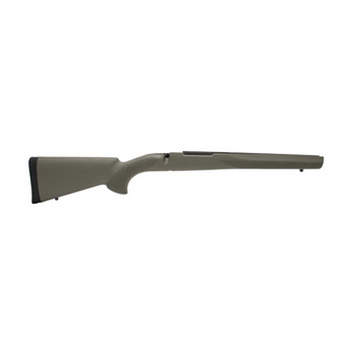 Hogue Rubber Overmolded Stock,Mauser 98 Olive Drab, Pillar Bedding