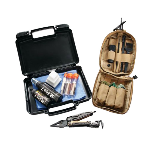 Hoppes Hoppes M-Pro 7 Tactical Cleaning Kit Small Arms with Leatherman M.U.T. 070-1508