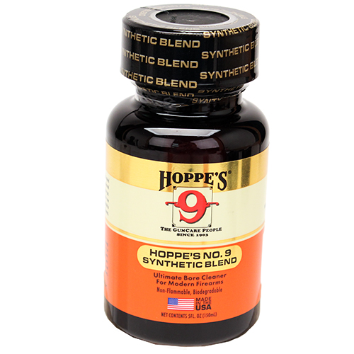 Hoppes No 9 Synthetic Blend Gun Bore Cleaner 2 oz, Clam Pack