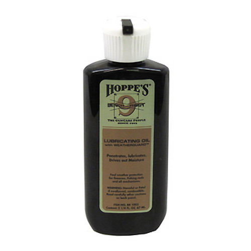Hoppes Hoppes Bench Rest Lubricating Oil w/ Weatherguard, 2 1/4 oz BR1003
