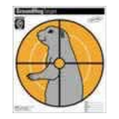 Hoppes Hoppes Paper Target Ground Hog (20 Pack) CT2
