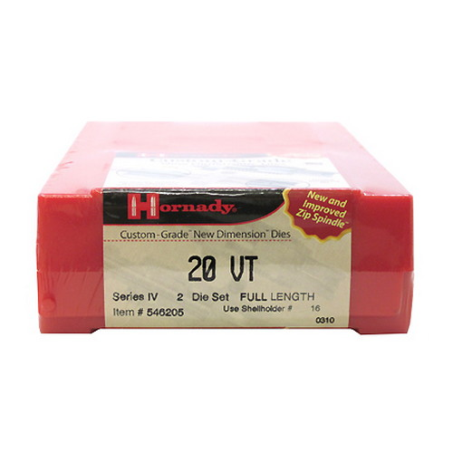 Hornady Series IV Specialty Die Set 20 VT (.204)