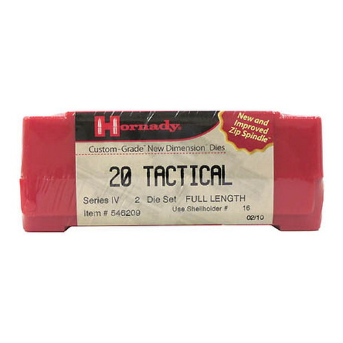 Hornady Hornady Series IV Specialty Die Set 20 Tactical 546209