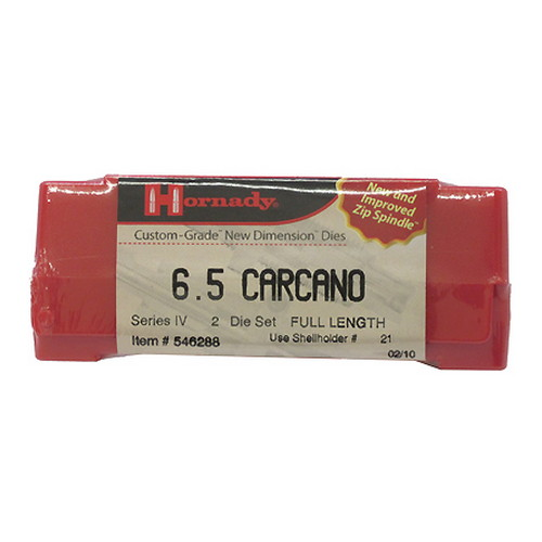 Hornady Series IV Specialty Die Set 6.5 Carcano (.268