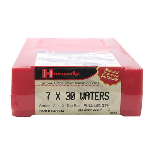 Hornady Hornady Series IV Specialty Die Set 7X30 WATERS (.284