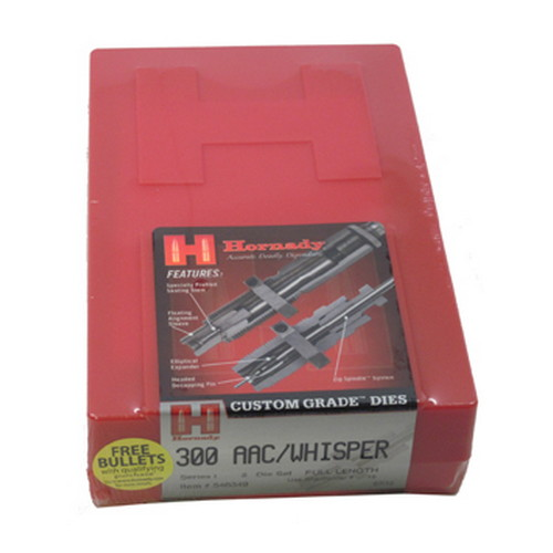Hornady Hornady Series I 2-Die Set 300 AAC BO/Whisper .308 546349