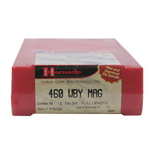 Hornady Hornady Series IV Specialty Die Set 460 Weatherby Magnum (.458