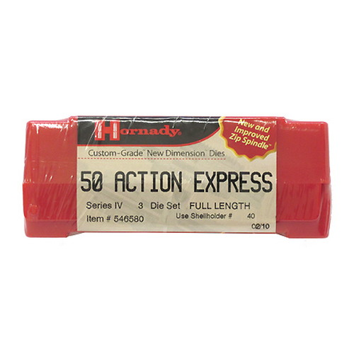 Hornady Hornady Series IV Specialty Die Set 50 Action Express 546580
