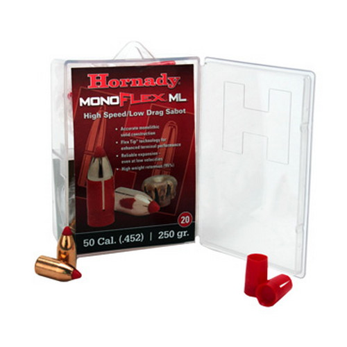 Hornady 50 Caliber Sabot Low Drag, 250 GMX (Per 20)