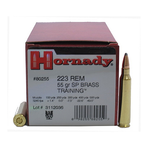 Hornady 223 Remington Ammunition by Hornady 223 Remington, 55 Grain, Spire Point