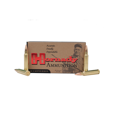 Hornady 223 Remington Ammunition by Hornady Custom, 68 Gr BTHP (Per 20)