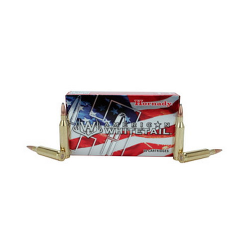 Hornady Hornady 243 Winchester by American Whitetail, 100 Gr BTSP (Per 20) 8047