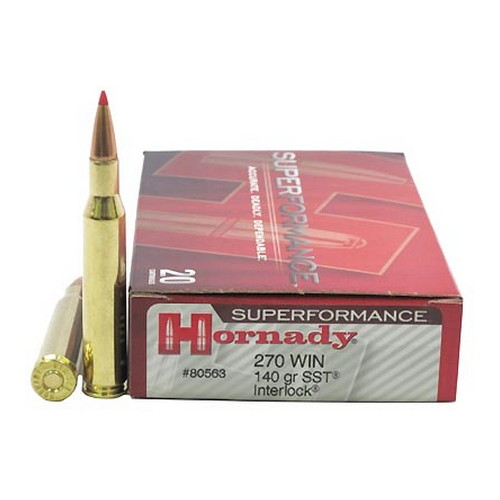 Hornady 270 Winchester by Hornady Superformance 140gr SST (Per 20)