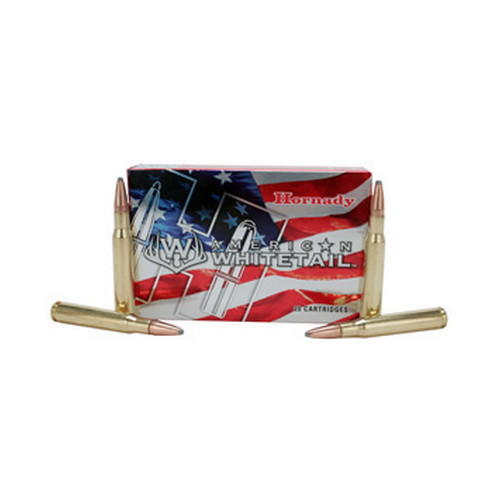 Hornady Hornady 7mm Remington Magnum by American Whitetail, 139Gr SP (Per 20) 80591