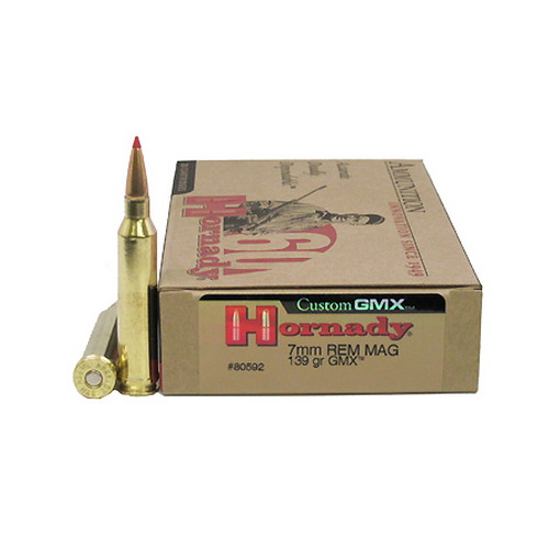 Hornady 7mm Remington Magnum by Hornady 139gr GMX (Per 20)