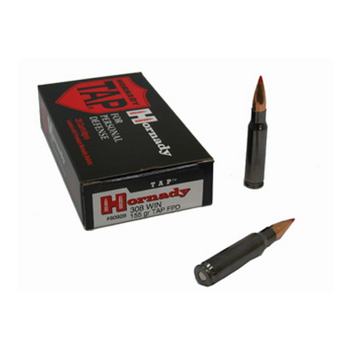 Hornady Hornady 308 Winchester by 308 Win, 155gr, TAP (Per 20) 80928