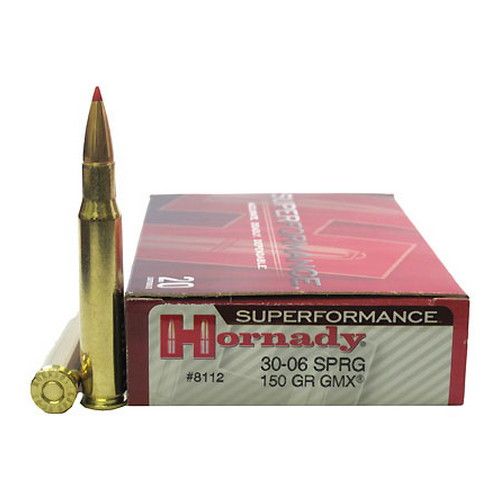Hornady Hornady 30-06 Springfield by Superformance 150gr GMX (Per 20) 8112