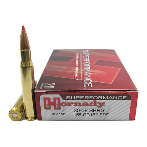 Hornady Hornady 30-06 Springfield by 165 Gr, Interbond Superformance/20 81158