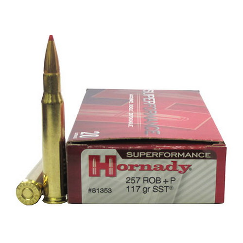 Hornady Hornady 257 Roberts by Superformance +P 117gr SST (Per 20) 81353