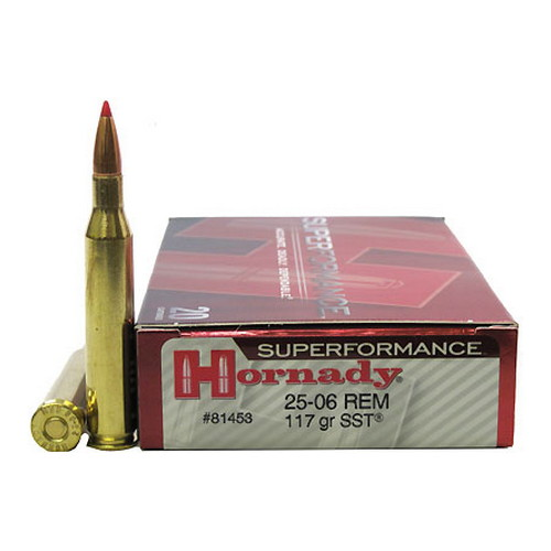 Hornady Hornady 25-06 Remington by Superformance 117gr SST (Per 20) 81453