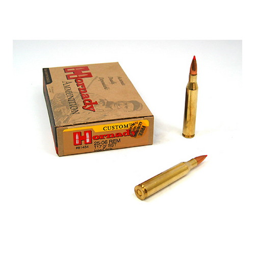 Hornady Hornady 25-06 Remington by 25-06 Rem, 117 Grain, SST, (Per 20) 81454