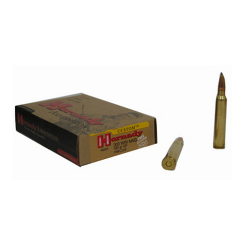 Hornady Hornady 300 Winchester Magnum by 300 Win Mag, 180 Gr, SP, (Per 20) 8200