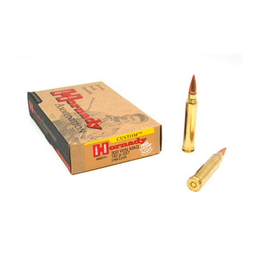 Hornady Hornady 300 Winchester Magnum by 300 Win Mag, 150 Gr, SST, (Per 20) 82014