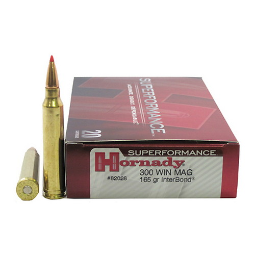 Hornady Hornady 300 Winchester Magnum by 165gr Interbond Superformance /20 82028