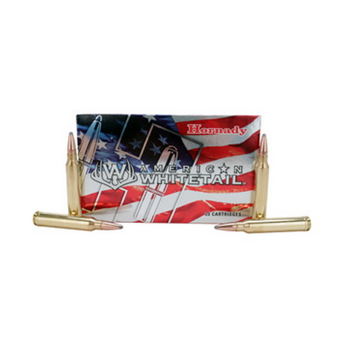 Hornady Hornady 300 Winchester Magnum by American Whitetail, 150 Gr SP (Per 20) 8204