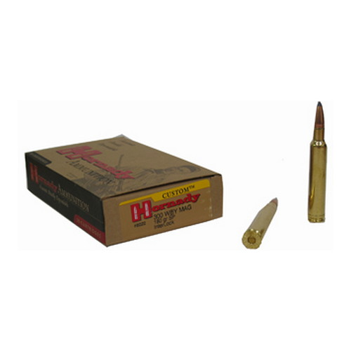 Hornady Hornady 300 Weatherby Magnum 180 Gr Soft Point Ammo 20 Rounds 8222