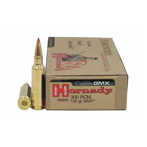 Hornady 300 Ruger Compact Magnum 150gr GMX (Per 20)