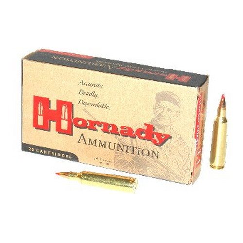 Hornady Hornady 22-250 Remington Ammunition by 55 Gr V-Max (Per 20) 8337