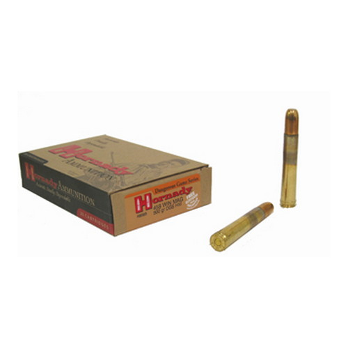 Hornady 458 Winchester Magnum by 500 Gr, Heavy Magnum Ammo, (Per 20) 8585