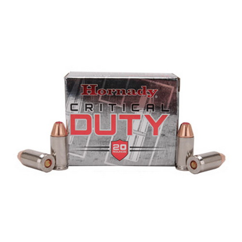 Hornady Hornady 45 Automatic Colt Pistol by +P, 220 Gr Critical Duty (Per 20) 90926