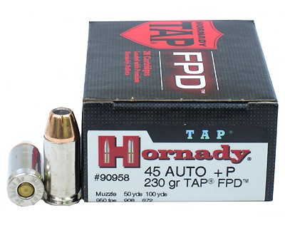 Hornady Hornady 45 Automatic Colt Pistol by 45 ACP, 230gr, (Per 25) 90958