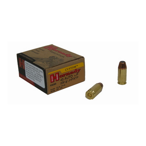 Hornady Hornady 45 Automatic Colt Pistol by 45 ACP, 230 Gr, XTP, (Per 20) 9096