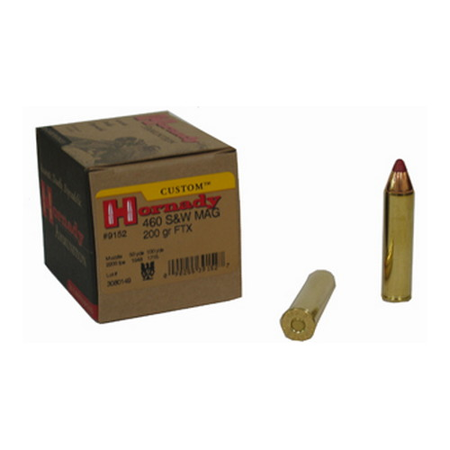 Hornady Hornady 460 Smith & Wesson by , 200gr, SST Ammunition, (Per 20) 9152